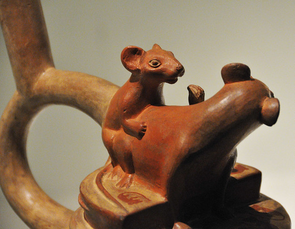 And the animals weren't left out, Archaelogical Museum, Lima, Peru
