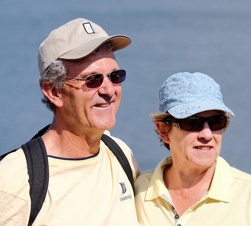 Al and Mary, Isla Rábida Galápagos