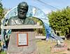 Darwin statue, Santa Cruz