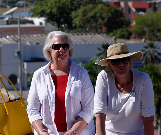 Cartagena Columbia - Castillo San Felipe De Barajas:  Lou and Elen