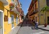 Cartagena  Columbia - old walled city