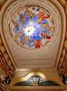 Cartagena  Columbia - Teatro Adolfo Mejía, wonderful ceiling