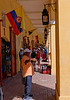 Cartagena  Columbia - the dungeons, apt name for tourist shops