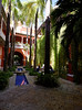 Cartagena  Columbia - small hotel in the old city