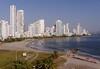 Cartagena  Columbia - Hilton Hotel view