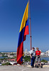 Cartagena Columbia - Castillo San Felipe De Barajas:  Dennis and Dianna