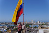 Cartagena Columbia - Castillo San Felipe De Barajas: Suzanne and Richard