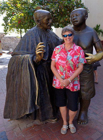 Cartagena  Columbia - Suzanne and friends
