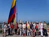 Cartagena Columbia - Castillo San Felipe De Barajas:  Peter, Mary, Dennis Dianna, Suzanne, Richard, Harriette, Mary, Al, Elen, Carol, Mike, Victoria, Lou, Doris