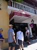 Cartagena  Columbia - Simón Bolívar Square, group lunch at Monte Sacro restaurant