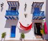 Cartagena  Columbia - colorful scene