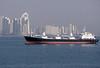 Ship and downtown Panama City