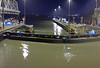 Miraflores locks are full and we've been lifted - total lift by all the locks is 85 feet