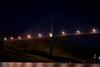 Passing under Centennial Bridge across the canal