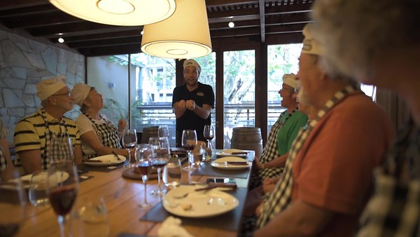 The Argentine Experience - an excursion trip and well worth it. Run by a Brit, great stories, food and wine were served.