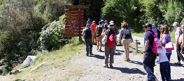 Crossing the Andes:  Starting on the hike