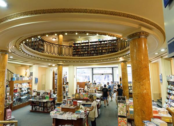 Buenos Aires Argentina - El Ateneo Grand Splendid bookstore