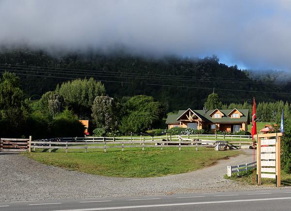 Crossing the Andes:  Llama stop