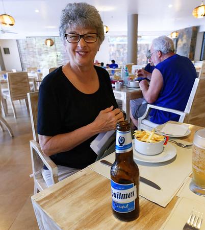 Loi Suites Iguazú Falls Argentina - the beer and fries