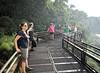 Iguazú Falls - enjoying the cool mist