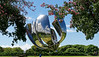 Buenos Aires Argentina - giant petal sculpture