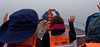 Chiloé Island, Chile - Ariana taking photos