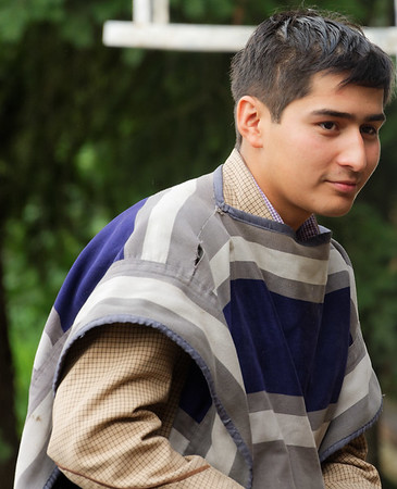 Las Olguitas, Chile - young man, showed off clothing and tack