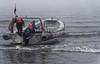 Chiloé Island, Chile - our boat