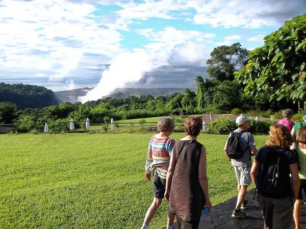 DAY 13:  Iguazú Falls - walk to lower falls from Sheraton Iguazú