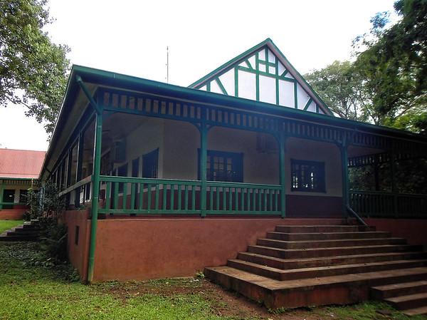 Iguazú Falls - original hotel, now used for park services