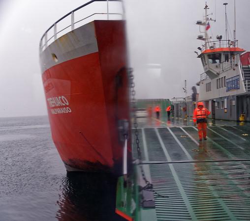 Ferry to Chiloé Island, Chile