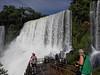 Iguazú Falls - lower falls