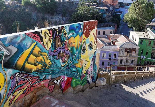 Valpariso, art everywhere