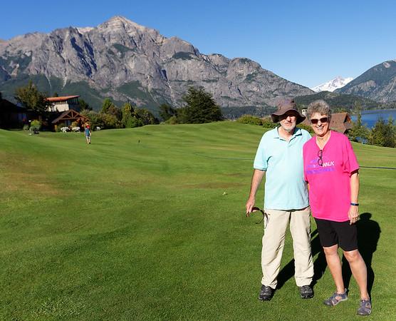 Bariloche, Argentina - Hotel Llao Llao, Richard and Suzanne