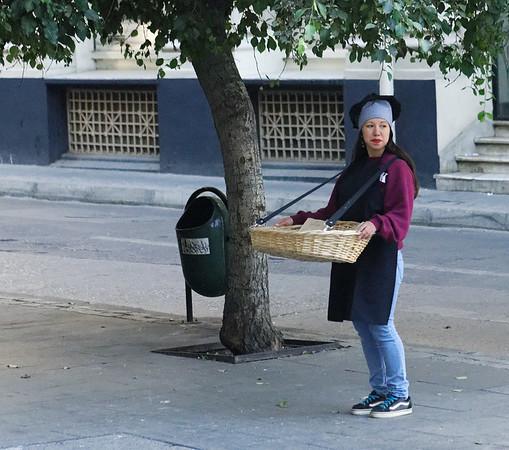 Valpariso, street vendor