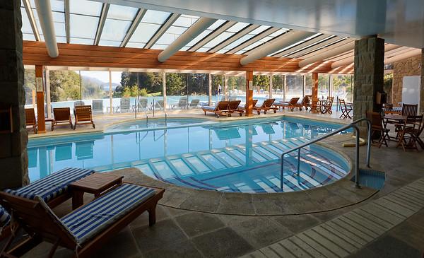 Bariloche, Hotel Llao Llao - indoor pool