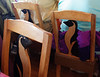 Chiloé Island, Chile - restaurant chairs