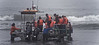 Chiloé Island, Chile - loading passengers on the boat