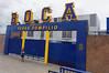 Buenos Aires Argentina - Boca Juniors Stadium in La Boca neighborhood