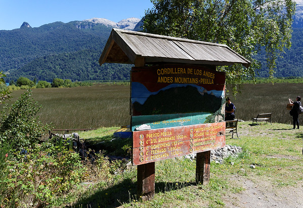 Crossing the Andes:  stop along the hike