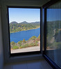 Bariloche, Argentina - Hotel Llao Llao, view from our bathroom