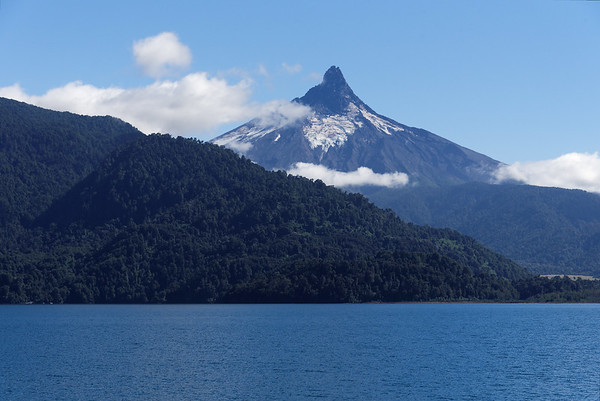 Crossing the Andes:  Volcano Puntiagudo
