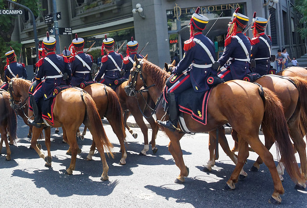 Buenos Aires - special show troops