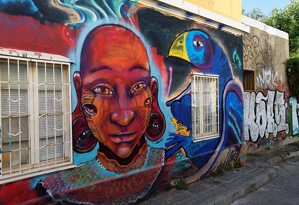 Valpariso, more art