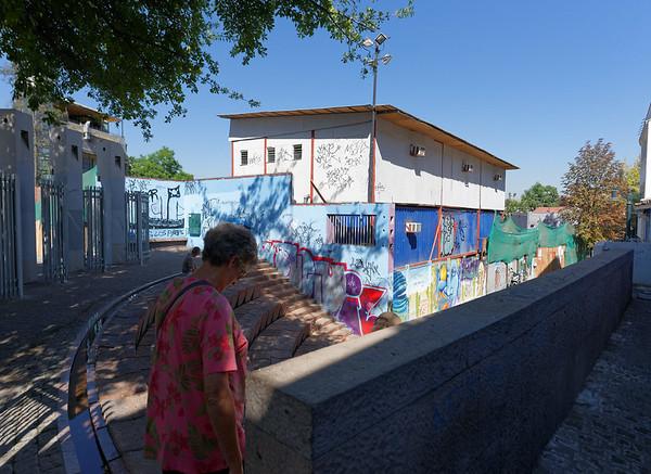 Santiago, area around Pablo Neruda's home