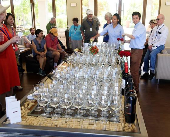 Viñas Casas del Bosque, the wine tasting