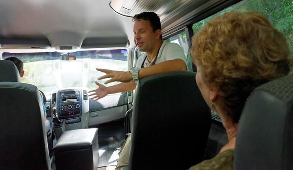Leaving Loi Suites Iguazú Falls Argentina - Chris
