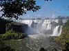 Iguazú Falls - break where water really comes gushing through