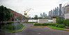 Buenos Aires Argentina - Madero, renovated warehouse and canal area