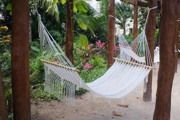 Secrets Akumal - many nooks and hideaways scattered around